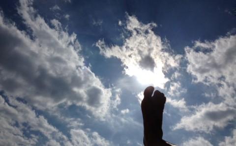 pisando el cielo