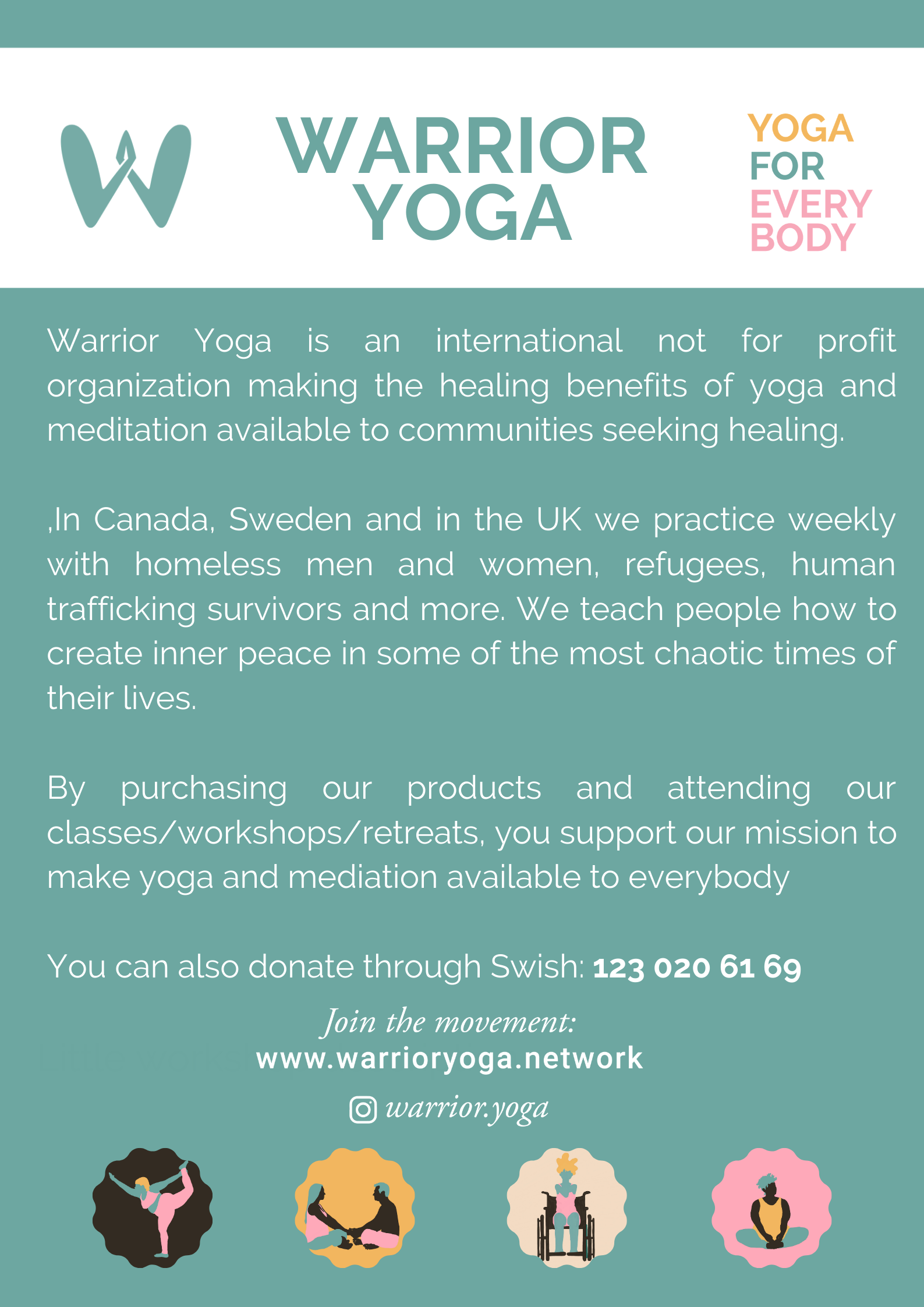 international flyer - warrior yoga